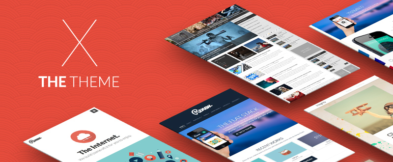 Our Website is Featured in the X WordPress Theme Showcase on the David Walsh Blog!
